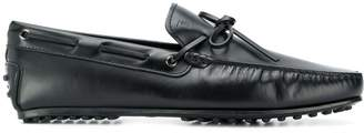Tod's slip on leather loafers