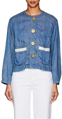 Comme des Garcons Women's Chambray Button-Front Jacket