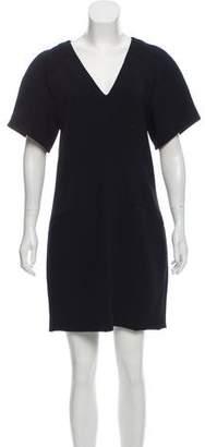 Helmut Lang Wool Short Sleeve Mini Dress w/ Tags