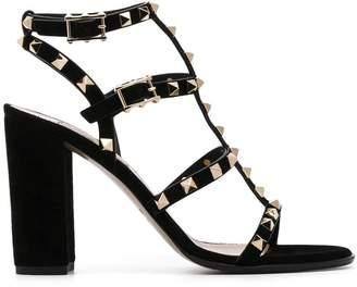 Valentino Garavan Rockstud rolling sandals