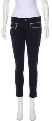 MICHAEL Michael Kors Low-Rise Skinny Pants