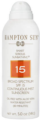 Hampton Sun SPF 15 Continuous Mist, 5 oz./ 148 mL