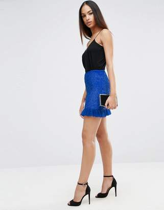 Asos DESIGN Embellished Mini Skirt