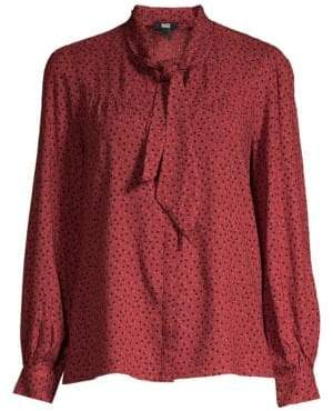 Paige Peteluma Dot Blouse