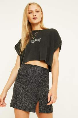Urban Outfitters Midnight Shimmer Mini Skirt