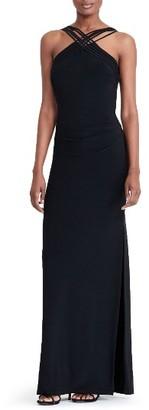Women's Lauren Ralph Lauren Jersey Column Gown $180 thestylecure.com