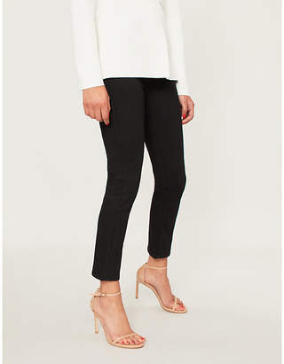 J Brand Ruby cropped high-rise cigarette skinny jeans