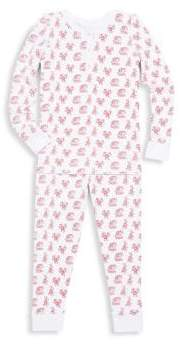 Baby's, Toddler's, Little Girl's and Girl's Cotton Printed Pajama Set