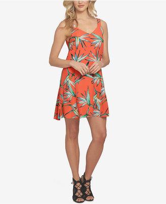 1.STATE Printed V-Neck Dress $109 thestylecure.com