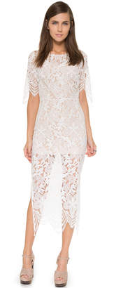 For Love & Lemons Luna Maxi Dress $246 thestylecure.com