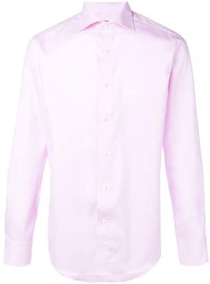 Canali classic fitted shirt
