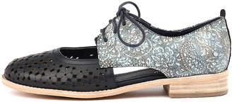 Django & Juliette Amara Navy-pastel mul Shoes Womens Shoes Casual Flat Shoes