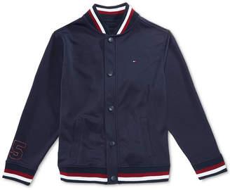 Tommy Hilfiger Big Boys Mesh Baseball Jacket