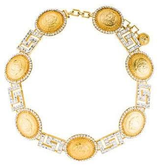Gianni Versace Vintage Medusa Coin Link Belt