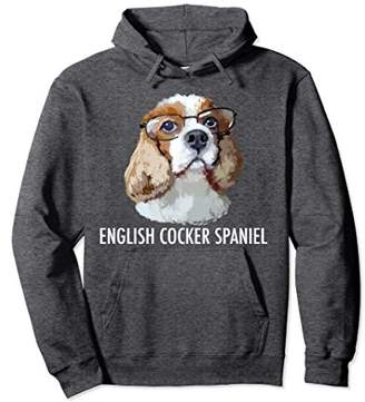English Cocker Spaniel Dog Pullover Hoodie