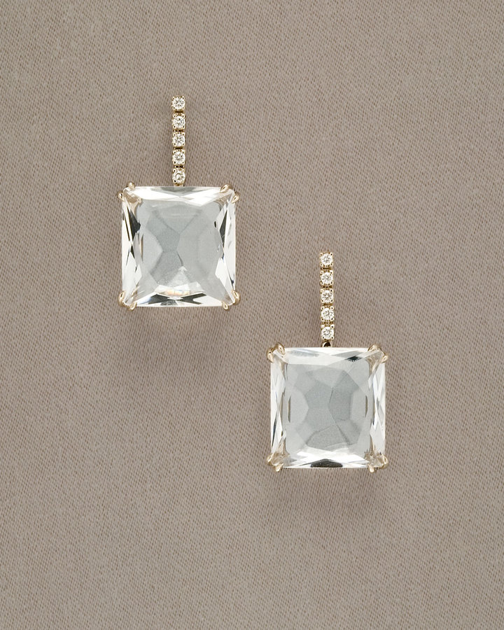 H.Stern Cobblestone Crystal Quartz Drop Earrings