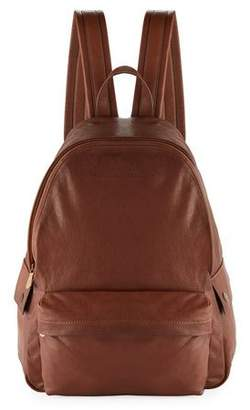 Brunello Cucinelli Men's Leather Backpack, Brown