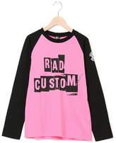 RAD CUSTOM (ラッド カスタム) - RAD CUSTOM 40/2天竺プリントラグランTシャツ ベベ オンライン ストア カットソー