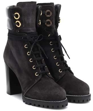 Stuart Weitzman Kingsley leather ankle boots