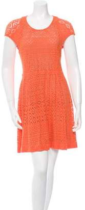 Yigal Azrouel Cut25 by Lace Flared Dress w/ Tags