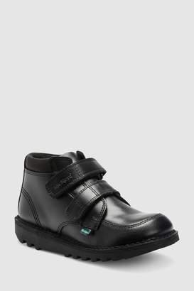 Next Boys Kickers Black Scuff Hi Boot
