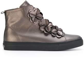 Kennel + Schmenger Kennel&Schmenger hi-top flower sneakers
