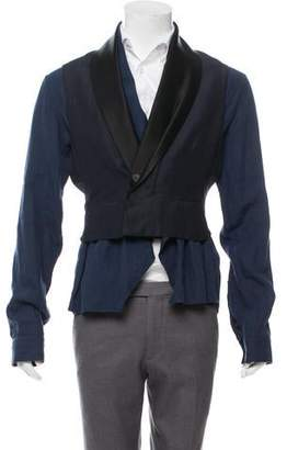 Haider Ackermann Layered Shirt Jacket