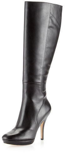 Via Spiga Storm To-the-Knee Boot, Black