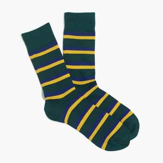 J.Crew Two-tone striped socks