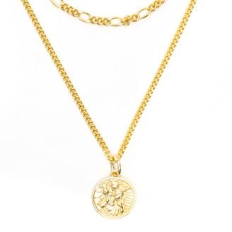 Serge Denimes Gold Multi Chain St Christopher