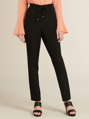 DKNY Icons Straight Leg Pull-On Pant