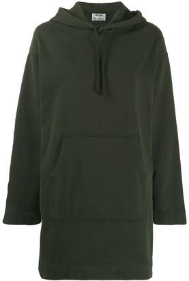 Acne Studios oversized hoodie dress