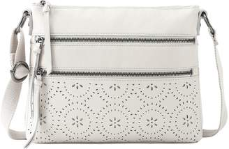 The Sak Reseda Perforated Leather Crossbody Handbag