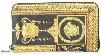 Versace Barocco zipped wallet