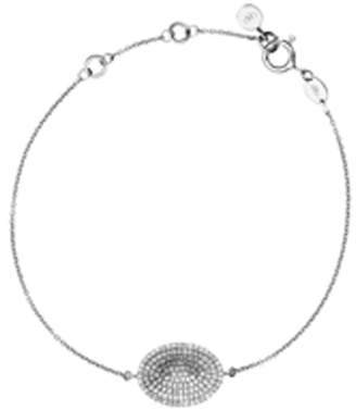 Links of London Sterling Silver and Diamond Concave Bracelet