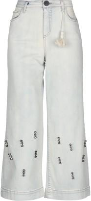 Alysi Denim pants - Item 42727490SH
