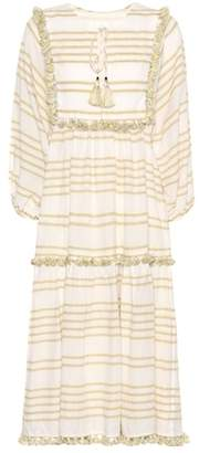 Zimmermann Striped cotton dress