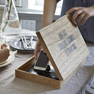 Lovestruck Interiors Personalised 'Digital Detox Box' For Storing Gadgets
