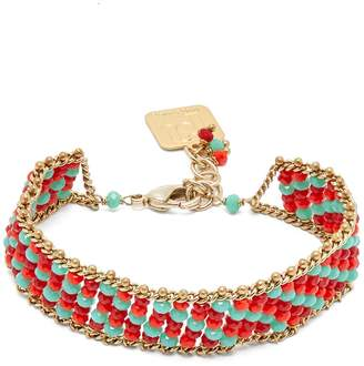 Rosantica BY MICHELA PANERO Striped beaded bracelet