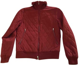 Loro Piana Red Cotton Jacket for Women