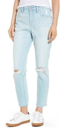 Women's Treasure & Bond High Waist Ankle Skinny Jeans $99 thestylecure.com