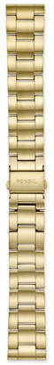 Fossil 22mm Three-Row Gold-Tone Stainless Steel Bracelet