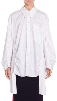 Stella McCartney Ruched-Side Shirt
