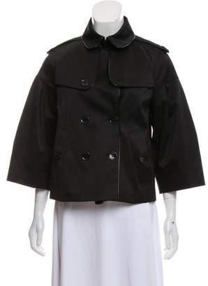 Burberry Crop Trench Jacket