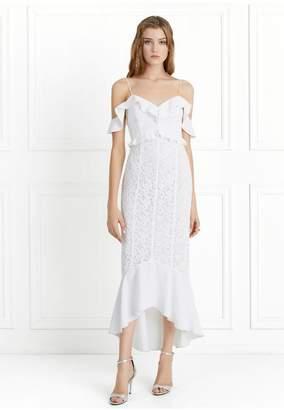 Rachel Zoe Chloe Off-The-Shoulder Garden Lace Dress