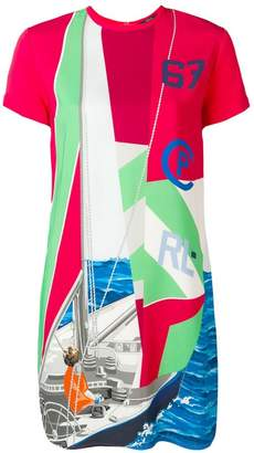 Polo Ralph Lauren Sailboat print T-shirt dress