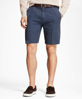 Brooks Brothers Chambray Stripe Shorts