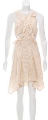 Isabel Marant Striped Cutout Dress w/ Tags