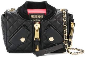 Moschino jacket-style shoulder bag