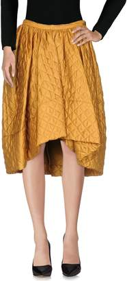 Charles Anastase Knee length skirts